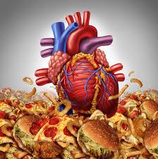 Herz in Junkfood